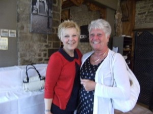 Marie Crowe, Founder Member with Brenda's daughter