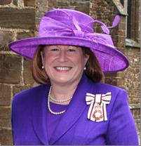Helen Nellis Lord-Lieutenant of Bedfordshire